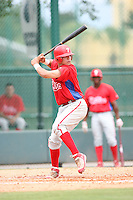 August 12, 2008: Sebastian Valle of the GCL Phillies.  Photo by: Chris Proctor/Four Seam Images