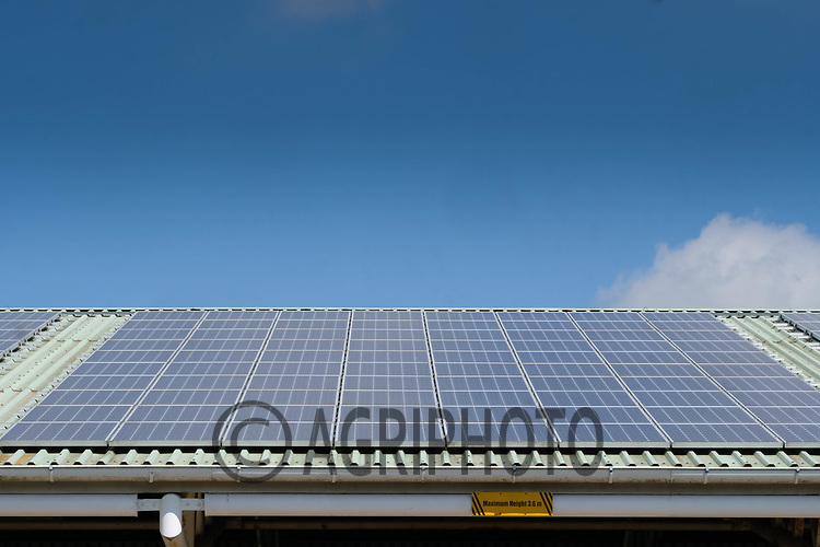 15-7-2021 Solar panels on a shed roof <br /> ©Tim Scrivener Photographer 07850 303986<br />      ....Covering Agriculture In The UK....