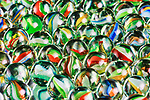 Macro image of marbles.  Abstract.