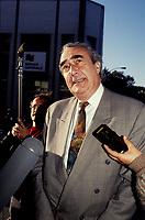 Marcel Prud'homme<br />  en 1992 (date exacte inconnue)<br /> <br /> PHOTO : Agence Quebec Presse