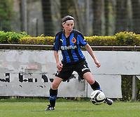 Club Brugge Dames B : Lies Van Hamme.foto DAVID CATRY / Nikonpro.be