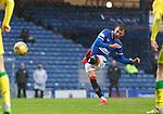 26.12.2020 Rangers v Hibs: Borna Barisic with a free-kick
