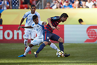 Cleveland, Ohio - Saturday, July 15, 2017: Alejandro Bedoya during the USMNT vs Nicaragua in CONCACAF Gold Cup 2017 match at First Energy Stadium.