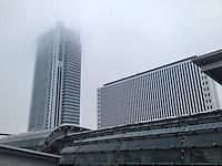 Torino- Grattacielo SanPaolo, di Renzo Piano, e stazione di Porta Susa