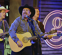 NASHVILLE, TN - NOVEMBER 13: Garth Brooks performs on the 53rd Annual CMA Awards at the Bridgestone Arena on November 13, 2019 in Nashville, Tennessee. (Photo by Frank Micelotta/PictureGroup)