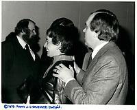 Ed et Lucille BROADBENT les 10 et 11 avril 1979<br /> <br /> PHOTO :  Agence Quebec Presse