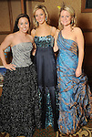 From left: Duchesses Katherine Frost, Katy Mayell and Morgan Braly at the San Luis Salute hosted by Paige and Tilman Fertitta in Galveston Friday Feb. 12,2010.(Dave Rossman Photo)