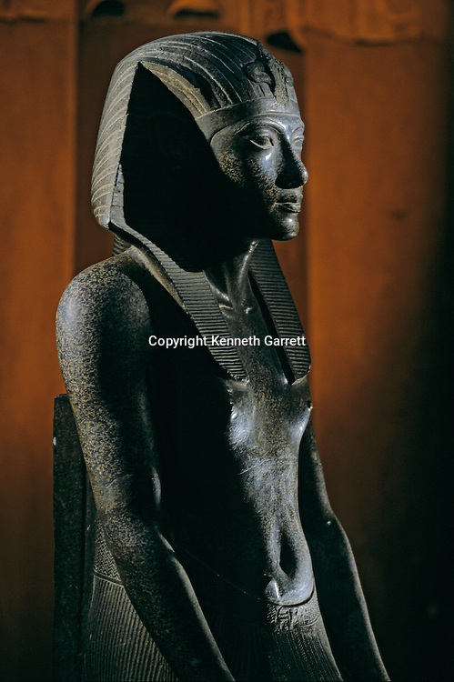 Granite statue of Tutankhamun,Tutankhamun and the Golden Age of the Pharaohs, Page 222