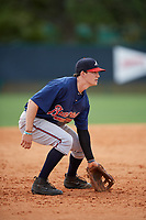 Atlanta Braves Ryan O'Malley (89) during a minor league Spring Training game against the Detroit Tigers on March 25, 2017 at ESPN Wide World of Sports Complex in Orlando, Florida.  (Mike Janes/Four Seam Images)