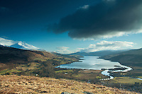 Loch Tay and Ben Lawers from Sron a Chlachain, Killin, Stirlingshire