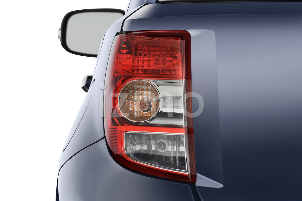 Tail light close up detail view of a 2008 Scion XD
