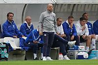 Trainer Torsten Lieberknecht (SV Darmstadt 98)<br /> <br /> - 28.08.2021 Fussball 2. Bundesliga, Saison 21/22, SV Darmstadt 98 vs Hannover 96, Stadion am Boellenfalltor, emonline, emspor, <br /> <br /> Foto: Marc Schueler/Sportpics.de<br /> Nur für journalistische Zwecke. Only for editorial use. (DFL/DFB REGULATIONS PROHIBIT ANY USE OF PHOTOGRAPHS as IMAGE SEQUENCES and/or QUASI-VIDEO)