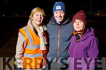 Tina Dineen, George and Gail Lowe ready for a walk with 'Ireland lights up' walking initiative in partnership with the GAA and Operation Transformation in the John Mitchels Complex on Friday