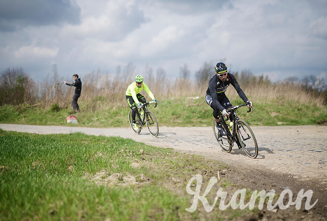 World Champion and race favourite Peter Sagan (SVK/Tinkoff) during recon of the 114th Paris - Roubaix 2016
