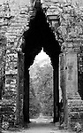 Angkor Thom East Gate 03 - Angkor Thom East Gate from the eastern side, Cambodia