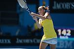Bojana JOVANOVSKI (SRB) loses at Australian Open in Melbourne Australia on 21st January 2013