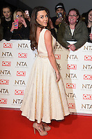 Michelle Heaton<br /> at the National TV Awards 2017 held at the O2 Arena, Greenwich, London.<br /> <br /> <br /> ©Ash Knotek  D3221  25/01/2017