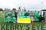 Killarney Celtic celebrate their Denny Youths U18 Cup win against Killorglin