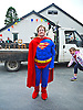 Superwoman at Llanafan Carnival, Ceredigion, West Wales.<br /> <br /> Stock Photo by Paddy Bergin