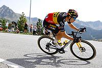 11th July 2021, Ceret, Pyrénées-Orientales, France; Tour de France cycling tour, stage 15, Ceret to  Andorre-La-Vieille;    VAN AERT Wout (BEL) of JUMBO - VISMA during stage 15 of the 108th edition of the 2021 Tour de France cycling race, a stage of 191,3 kms between Ceret and Andorre-La-Vieille.
