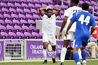 Orlando, Florida - Saturday January 13, 2018: Carter Manley. Match Day 1 of the 2018 adidas MLS Player Combine was held Orlando City Stadium.