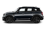Car Driver side profile view of a 2021 MINI Countryman Cooper-Northwood 5 Door SUV Side View