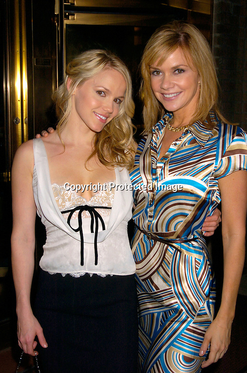 Alexa Havins and Bobbie Eakes..at a Party for Susan Lucci to announce her Star on the Hollywood Walk of Fame on September 23, 2004 ..at San Domenico Restaurant . ..Photo by Robin Platzer, Twin Images