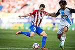 Kevin Gameiro of Atletico Madrid in action during their La Liga match between Atletico Madrid and Deportivo de la Coruna at the Vicente Calderon Stadium on 25 September 2016 in Madrid, Spain. Photo by Diego Gonzalez Souto / Power Sport Images