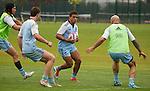 Isaac Te Tamaki. Training, 14 May 2015. London, England. Photo: Marc Weakley