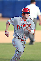 Illinois State Redbirds outfielder Tyler McNeely #5 during a game vs. Bowling Green at Chain of Lakes Park in Winter Haven, Florida;  March 6, 2011.  Illinois State defeated Bowling Green 18-10.  Photo By Mike Janes/Four Seam Images
