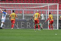 Giulio Donati of US Lecce make the own goal of 0-1<br /> Lecce 01-03-2020 Stadio Via del Mare <br /> Football Serie A 2019/2020 <br /> US Lecce - Atalanta BC<br /> Photo Carmelo Imbesi / Insidefoto