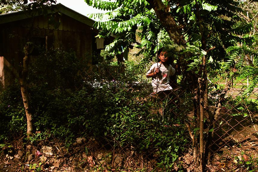 Backyard swing. Lamut, Ifugao. 10 February 2002