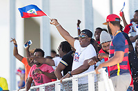 Bradenton, FL - Sunday, June 12, 2018: Fans prior to a U-17 Women's Championship 3rd place match between Canada and Haiti at IMG Academy. Canada defeated Haiti 2-1.