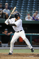 South Bend Silver Hawks outfielder Breland Almadova (25) during a game against the Bowling Green Hot Rods on August 20, 2013 at Stanley Coveleski Stadium in South Bend, Indiana.  Bowling Green defeated South Bend 3-2.  (Mike Janes/Four Seam Images)