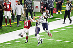 New England Patriots free safety Duron Harmon (30) in action during Super Bowl LI at the NRG Stadium in Houston, Texas.