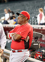 Dusty Baker / Cincinnati Reds Manager at Chase Field, Phoenix, AZ - 09/12/2008..Photo by:  Bill Mitchell/Four Seam Images
