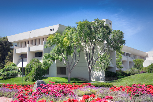 The College of Education Building on the campus of the University of Nevada, Las Vegas.