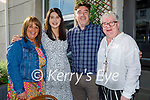 Enjoying the evening in the Ashe Hotel on Friday evening, l to r: Sandra Leahy, Grainne Coleman, Brian Mangan and Mary Cullan.