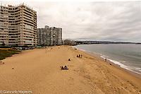 Chile, Regione de valparaiso, Villa del mar, beach