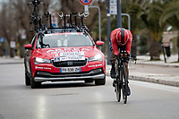 Nairo Quintana (COL/Arkea Samsic)<br /> <br /> Final stage 7 (ITT) from San Benedetto del Tronto to San Benedetto del Tronto (10.1km)<br /> <br /> 56th Tirreno-Adriatico 2021 (2.UWT) <br /> <br /> ©kramon