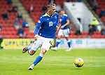 St Johnstone v Motherwell…08.08.21  McDiarmid Park<br />Hayden Muller<br />Picture by Graeme Hart.<br />Copyright Perthshire Picture Agency<br />Tel: 01738 623350  Mobile: 07990 594431