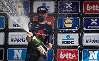 Dylan van Baarle (NED/INEOS Grenadiers) wins the 76th Dwars door Vlaanderen 2021 (MEN1.UWT)<br /> <br /> 1 day race from Roeselare to Waregem (184km)<br /> <br /> ©kramon