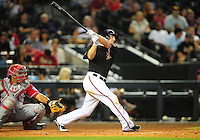 Jun. 4, 2011; Phoenix, AZ, USA; Arizona Diamondbacks shortstop Stephen Drew against the Washington Nationals at Chase Field. Mandatory Credit: Mark J. Rebilas-