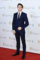George Mackay<br /> BAFTA Film Awards 2020 nominees party, Kensington Palace, London.<br /> <br /> ©Ash Knotek  D3553 01/02/2020