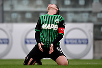 Valeria Pirone of Sassuolo reacts during the women Serie A football match between US Sassuolo and Hellas Verona at Enzo Ricci stadium in Sassuolo (Italy), November 15th, 2020. Photo Andrea Staccioli / Insidefoto