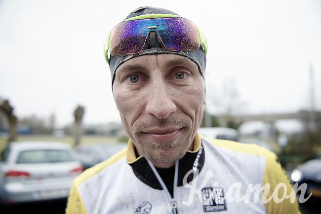 Robert Wagner (DEU/LottoNL-Jumbo) post-trainingride<br /> <br /> 2015 Omloop Het Nieuwsblad recon by Team LottoNL-Jumbo