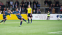 Forfar's Dale Hilson scores from the spot.