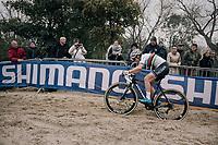 CX World Champion Sanne Cant (BEL/Iko-Beobank)<br /> <br /> Women's Elite race<br /> <br /> UCI cyclocross World Cup Koksijde / Belgium 2017