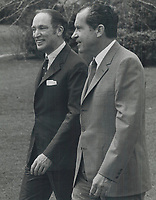 Pierre Trudeau and President Nixon