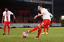 Filipe Morais of Stevenage scores their fourth goal from the penalty spot<br />  - Stevenage v Stourbridge - FA Cup Round 2 - Lamex Stadium, Stevenage - 7th December, 2013<br />  © Kevin Coleman 2013